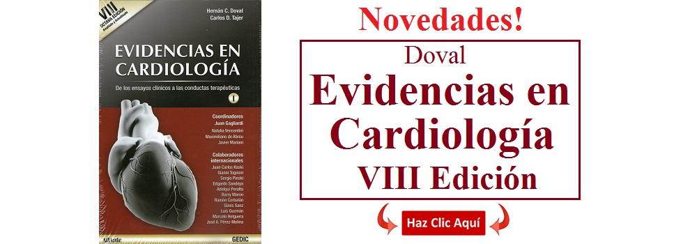 Evidencias en Cardiología VIII - Doval - I.S.B.N.: 9789879838884