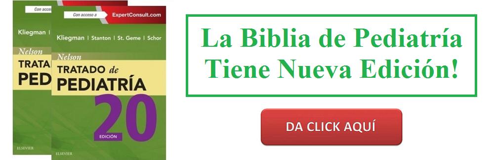 NELSON TRATADO DE PEDIATRIA 20° Ed. - Kliegman - Isbn: 9788491130154